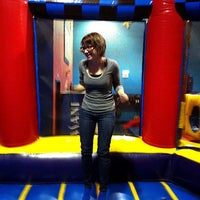 Photo taken at Pump It Up by Kerry C. on 2/29/2012