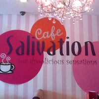 Photo taken at Cafe Salivation by Raymond Y. on 12/12/2011