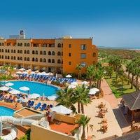 Photo taken at Playamarina Spa Hotel 4* by Playa Senator Hoteles on 8/10/2011