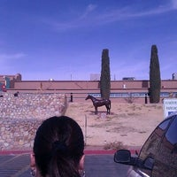 Photo taken at Sunland Park Racetrack & Casino by Valerie S. on 1/15/2012