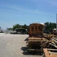 Photo taken at austin pallet company by Sheldon W. on 4/25/2012