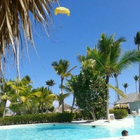 Photo taken at Pool Iberostar Punta Cana & Dominicana by Bruno G. on 1/25/2012