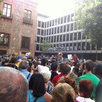Photo taken at Plaza del Rey by Eva L. on 7/19/2012
