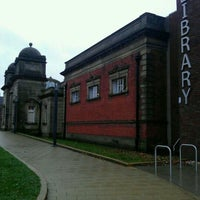 Photo taken at Gateshead Central Library by Suzanne S. on 10/10/2011