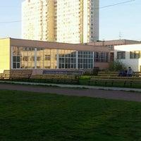 Photo taken at Футбольное поле by Andrew D. on 5/10/2012