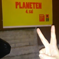 Photo taken at Planeten by Louise R. on 9/7/2012