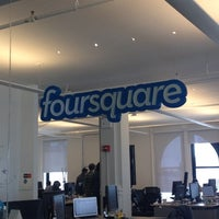 Photo taken at Foursquare HQ by Natalia A. on 8/24/2012