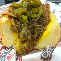 Photo taken at DP Cheesesteaks by Jonathan O. on 8/4/2012