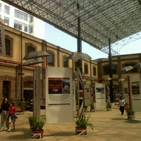Photo taken at Plaza Loreto by Miguel S. on 8/8/2012