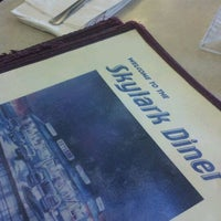 Photo taken at Skylark Diner by Catherine K. on 10/15/2011