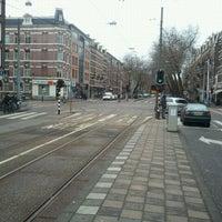 Photo taken at Tramhalte Van Woustraat by Helco P. on 2/14/2012