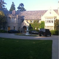 Photo taken at Playboy Mansion by Ben B. on 1/29/2012