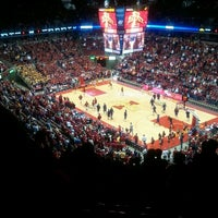 Photo taken at James H. Hilton Coliseum by Deb P. on 2/1/2012