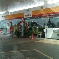 Photo taken at Shell Kampung Merang by Juwita L. on 8/22/2012