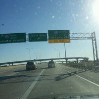 Photo taken at Veterans Memorial Tollway by Michael F. on 12/10/2011