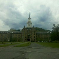 Photo taken at Trans-Allegheny Lunatic Asylum by Eric F. on 5/7/2011