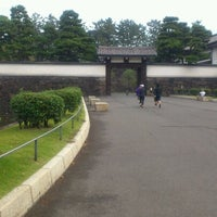 Photo taken at Sakuradamon Gate by akira k. on 10/30/2011