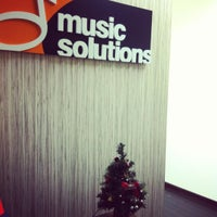 Photo taken at Music Solutions by Joy C. on 11/14/2011