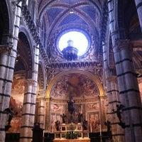 Photo taken at Duomo di Siena by Rex L. on 7/6/2012