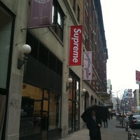 Photo taken at Supreme NY by J. D. on 4/8/2011