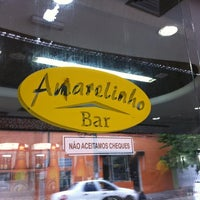 Photo taken at Amarelinho Bar by Anderson L. on 4/11/2011