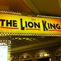 Photo taken at THE LION KING in Las Vegas by Gilbert L. on 11/20/2011