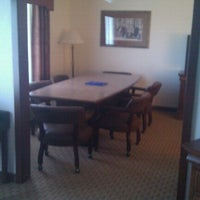 Photo taken at Holiday Inn Express by Chris H. on 8/31/2011