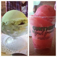 Photo taken at Gunther's Quality Ice Cream by Tracy L. on 7/25/2012