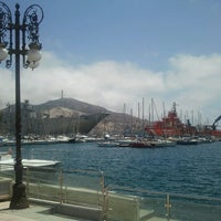 Photo taken at Port of Cartagena by Sara I. on 7/4/2012
