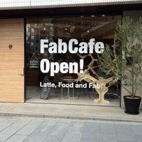 Photo taken at FabCafe Tokyo by Nobuyuki H. on 3/25/2012