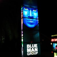 Photo taken at Blue Man Group at Universal CityWalk by Vitor F. on 5/6/2012