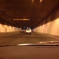 Photo taken at Airport Tunnel by kristeneileen ✌ on 7/26/2012