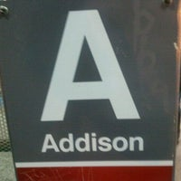 Photo taken at CTA - Addison by Scott M. on 10/11/2011