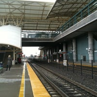 Photo taken at Millbrae Caltrain Station by Alex Y. on 3/14/2011