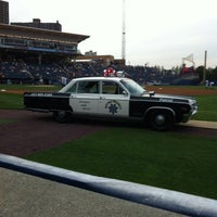 Photo taken at Richmond County Bank Ballpark by Jeffrey M. on 7/19/2012