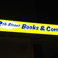 Photo taken at 8th Street Books & Comics by Nathan P. on 4/14/2012