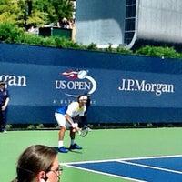Photo taken at Court 7 - USTA Billie Jean King National Tennis Center by Lisa P. on 8/30/2012