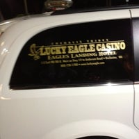 Photo taken at Lucky Eagle Casino / Eagles Landing Hotel by Bill T. on 8/24/2012