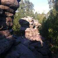Снимок сделан в Скалы «Чертово Городище» пользователем Anastasia P. 8/28/2012