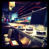 Photo taken at Sushi Zanmai (壽司三味) by Violet J. on 3/5/2012
