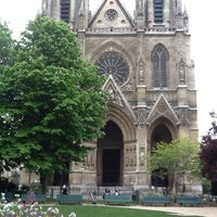 Photo taken at Basilique Sainte-Clotilde by Никита С. on 4/27/2012