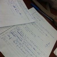 Photo taken at Faculté Des Sciences Mohamed V by Jaouad B. on 6/1/2012