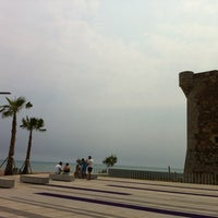 Photo taken at Playa Torre Sant Vicent by Viviana C. on 7/1/2012
