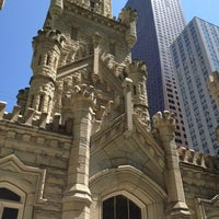 Photo taken at Chicago Water Tower by Eletta B. on 5/22/2012