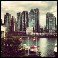 Photo taken at Granville Island Hotel by Chris B. on 3/11/2012