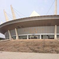 Photo taken at Hangzhou Danzi University by Thiago d. on 6/9/2012