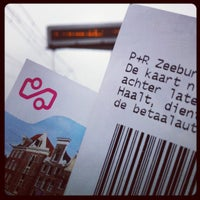 Photo taken at P&R Zeeburg by Ianus K. on 2/27/2012