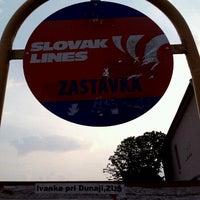 Photo taken at Ivanka pri Dunaji, ZUŠ (bus) by Daniel K. on 9/3/2012