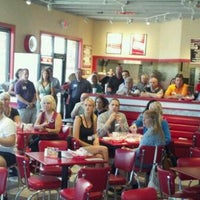 Photo taken at Freddy's Frozen Custard & Steakburgers by Robert M. on 8/8/2012