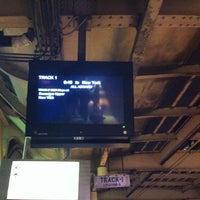Photo taken at Newark Penn Station - Track 1 by Suzana U. on 3/30/2012